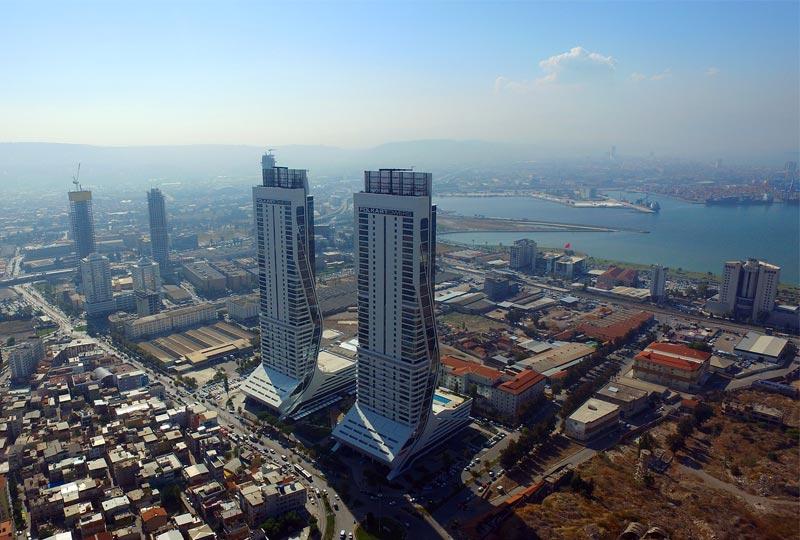 Folkart Towers Havadan Çekim